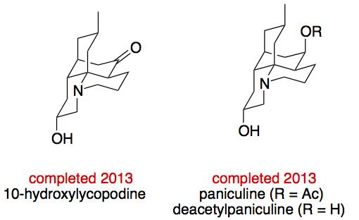 10-Hydroxy Lycopodium Alkaloids