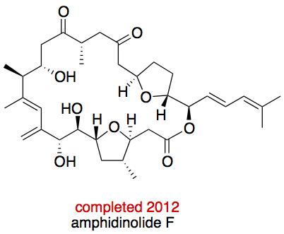 Amphidinolide F