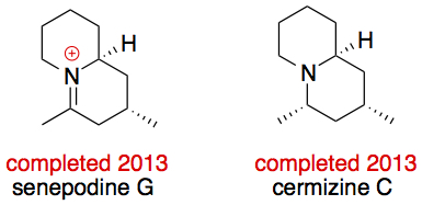Cermizine D and Senepodine G