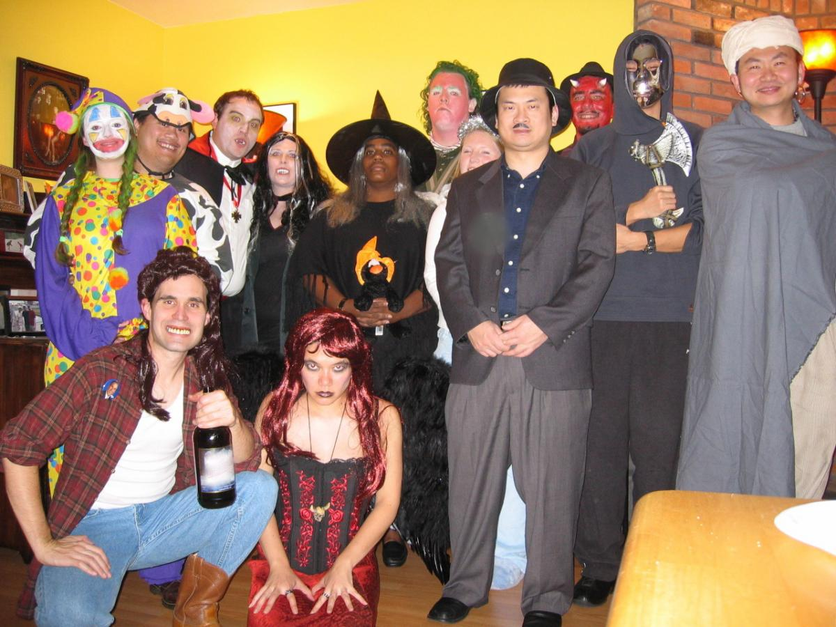 2004-oct rich and mary's annual halloween bash | carter research