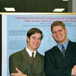 Campbell and David at the Poster Session