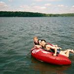 Dave and Wei Tubing