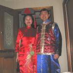 The Emperor and his wife have arrived