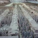 Pit #1 of the Terra Cotta Warriors (Xian)