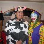 "A ""Man"" Cow and a Clown"