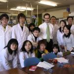 With host Iho Fukuyama's Students at Tokushima Burni University