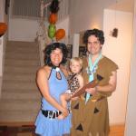 Betty Rubble, Fred Flinstone and their secret lovechild Bam Bam