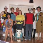 Group Photo (Note: Hua, Erik and Drew have mysteriously become the mini-pirate, headless monster and skeleton)